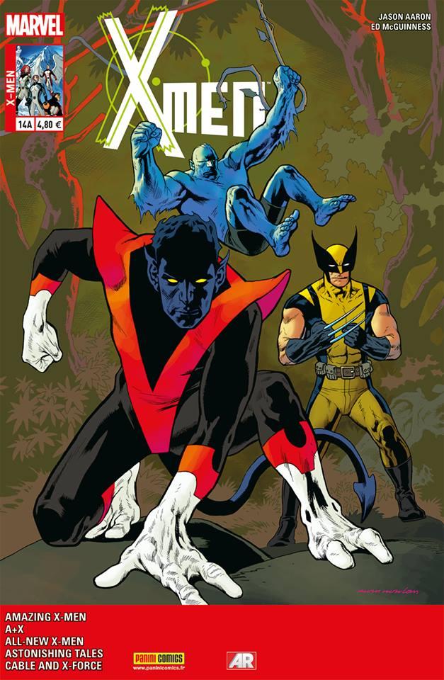 X-Men 14 - Couverture A : VENDETTA 1 (sur 4)