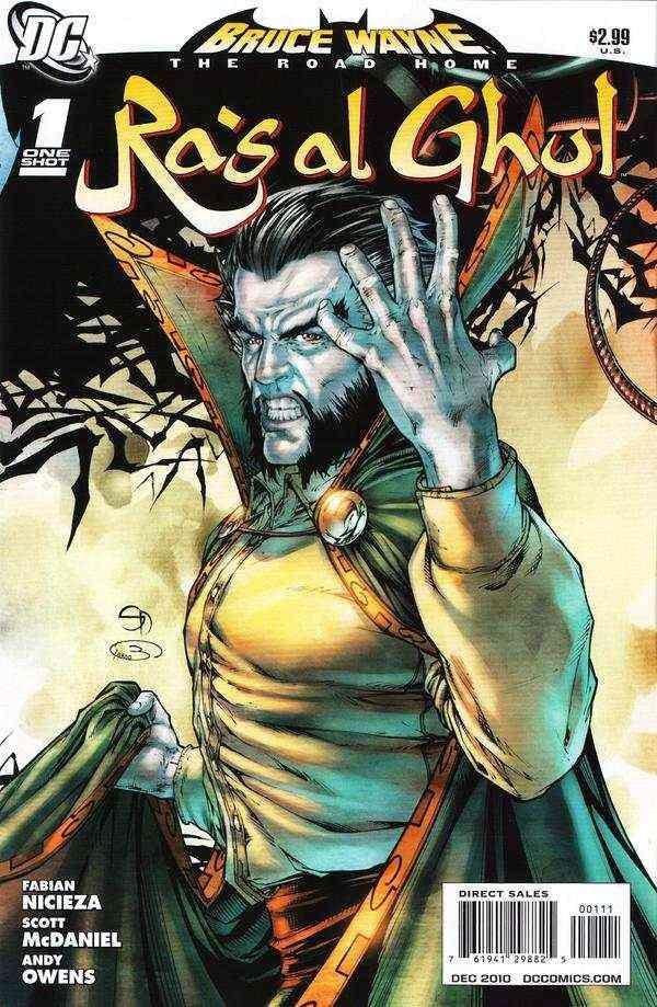 Bruce Wayne - The Road Home - Ra's al Ghul 1