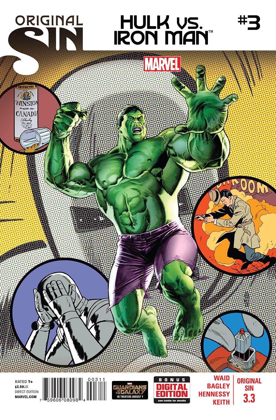 Original Sin 3.3 - Hulk Vs. Iron Man #3