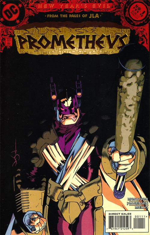 Prometheus (DC Comics) 1 - There Was a Crooked Man