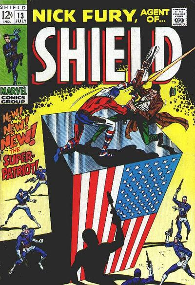 Nick Fury 13 - The Super-Patriot!
