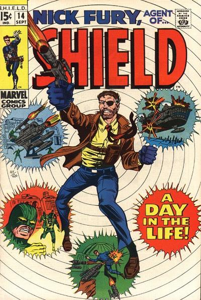 Nick Fury 14 - A Day in the Life