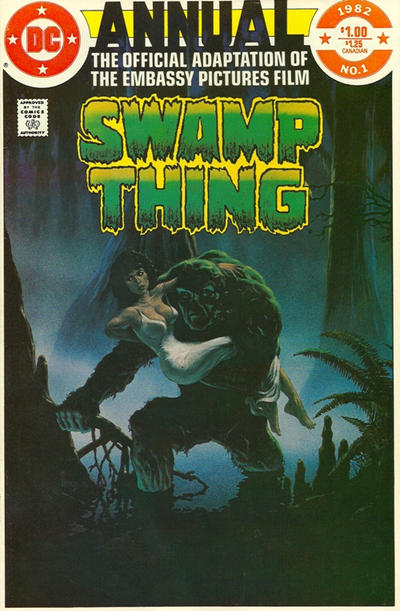 The saga of the Swamp Thing 1 - Swamp Thing