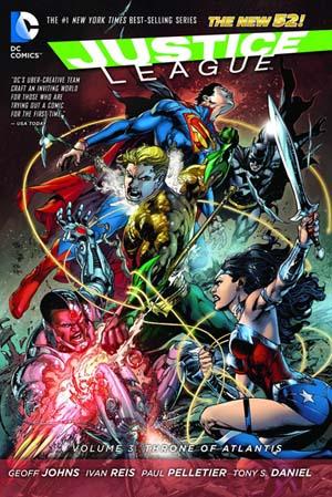 Justice League 3 - Throne of Atlantis