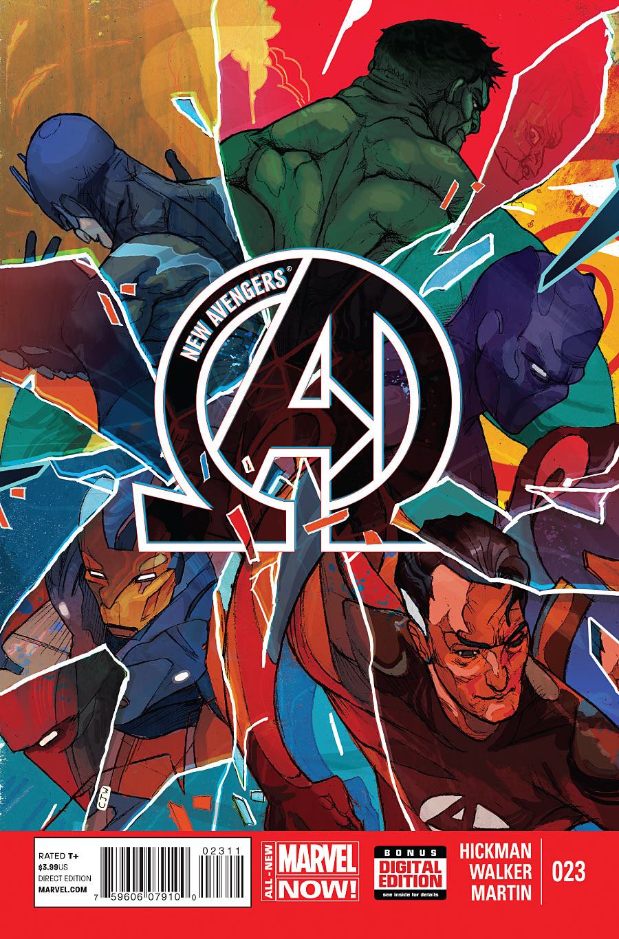 New Avengers 23 - Issue 23