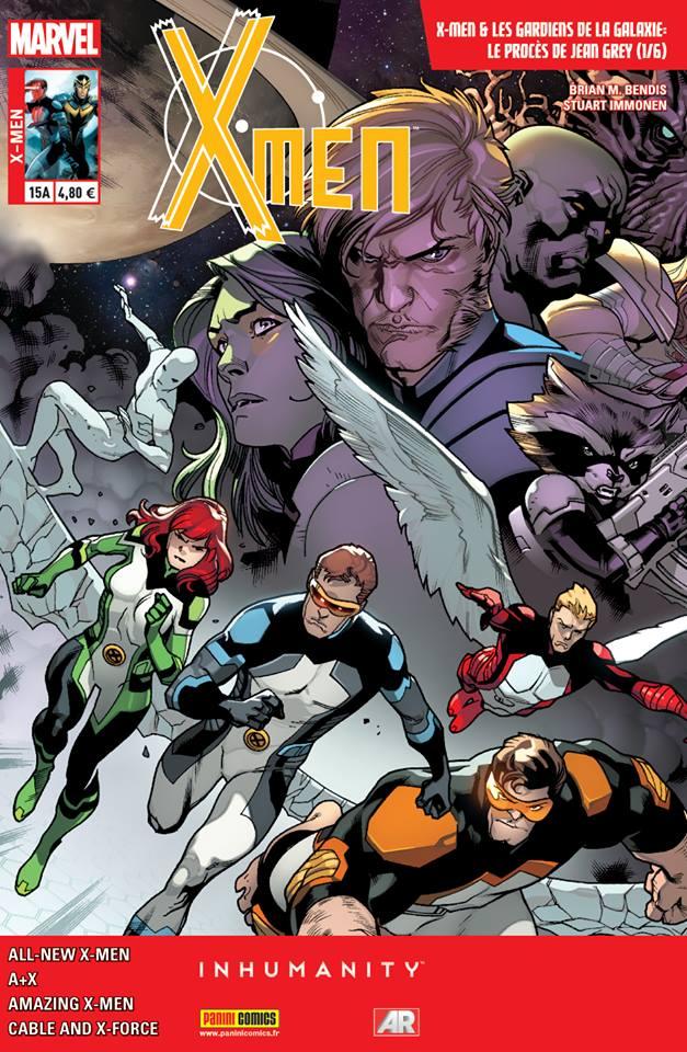 X-Men 15 - VENDETTA 3 (sur 4) & LE PROCÈS DE JEAN GREY 1 (sur 6) : Couverture A