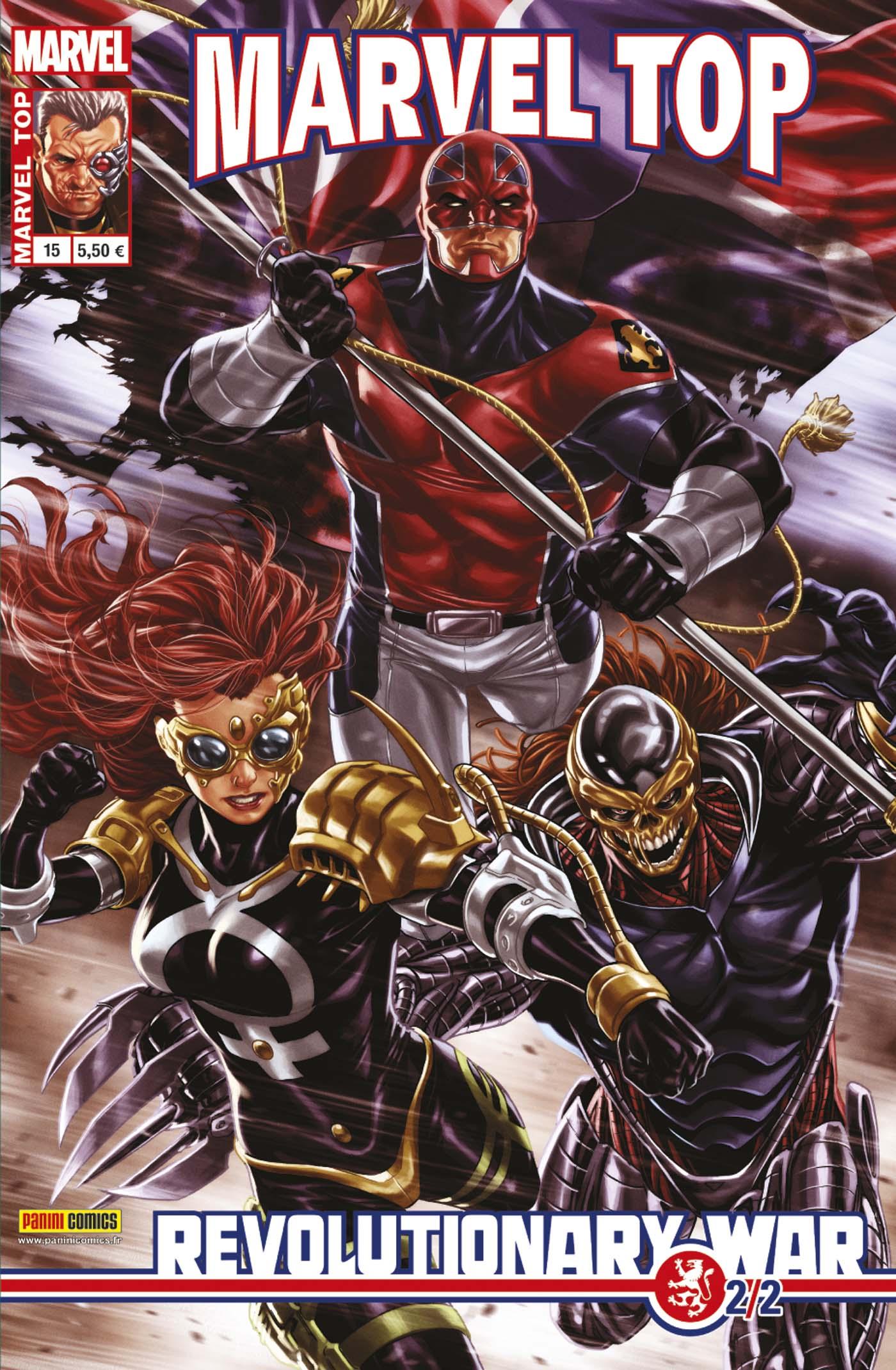 Marvel Top 15 - REVOLUTIONARY WAR 2 (sur 2)