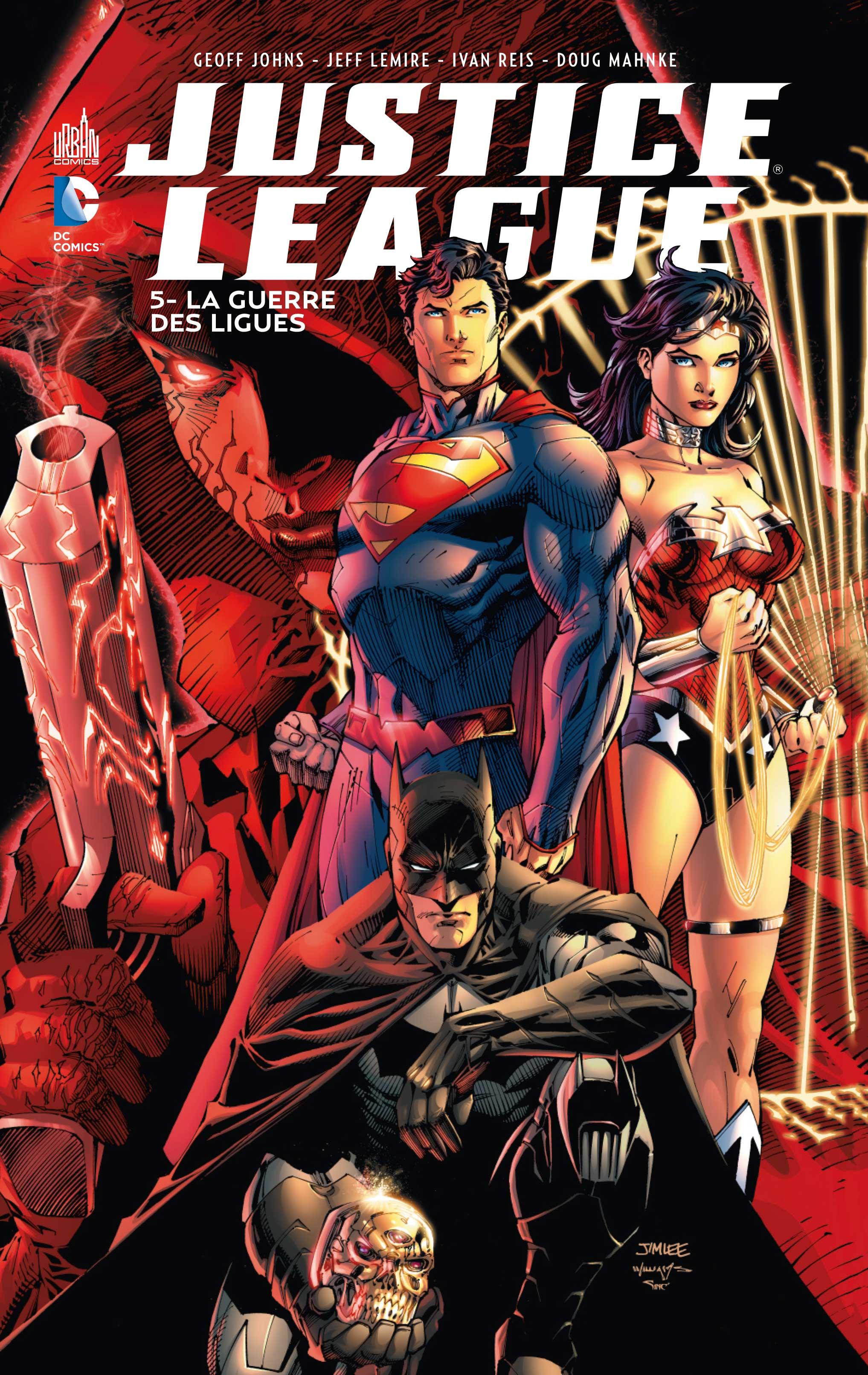 Justice League 5 - La guerre des ligues
