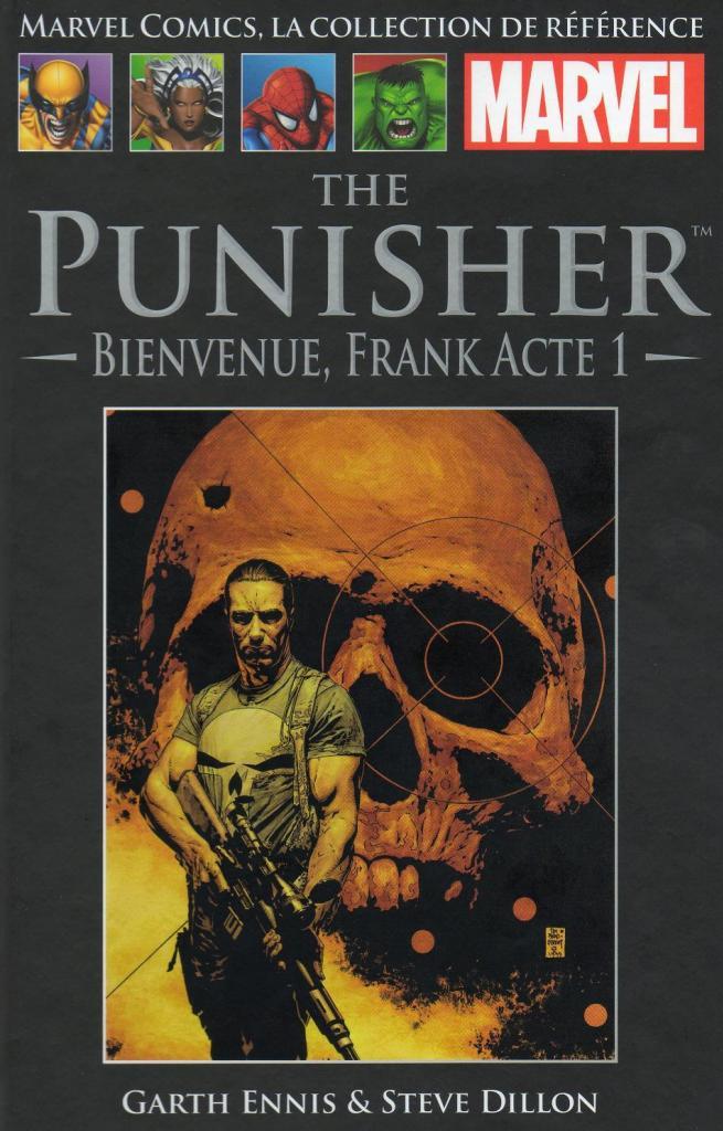 Marvel Comics, la Collection de Référence 21 - The Punisher - Bienvenue, Frank Acte 1