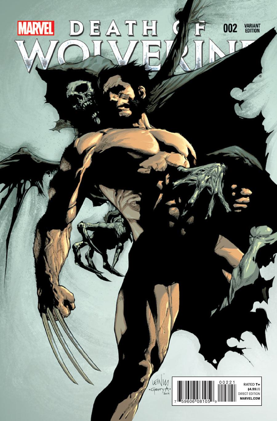 La Mort de Wolverine 2 - Death of Wolverine Part Two (Leinel Francis yu Variant Cover)