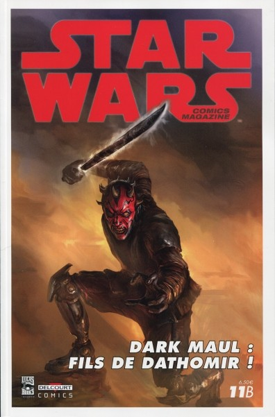 Star Wars comics magazine 11 - Couverture 11 B