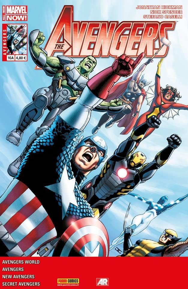 Avengers 16 - Couverture A