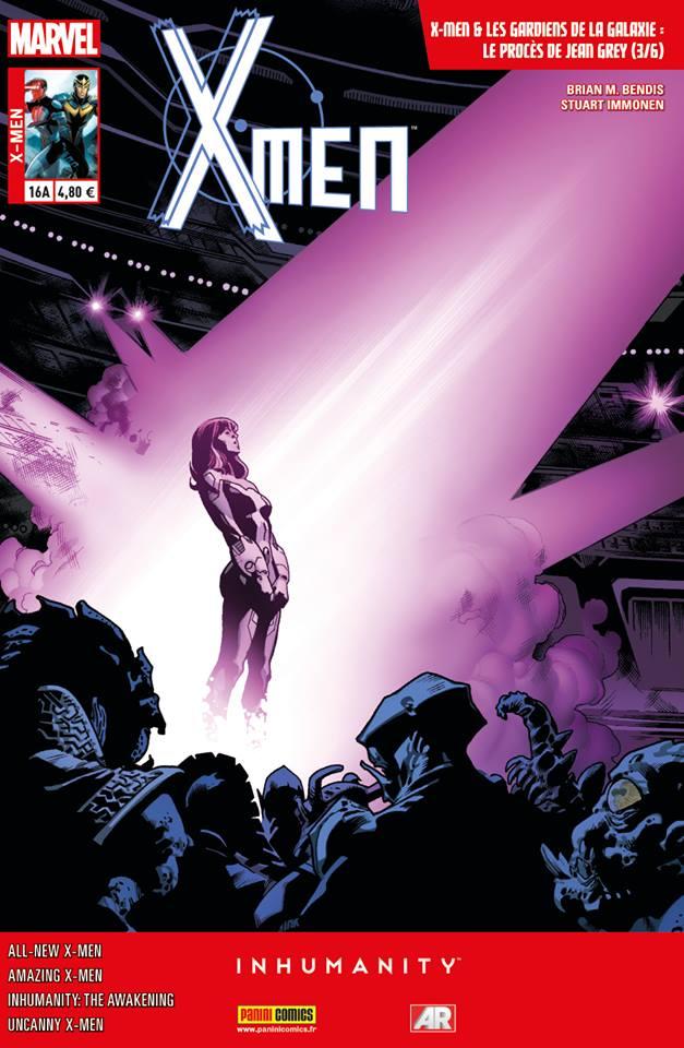 X-Men 16 - LE PROCÈS DE JEAN GREY 3 (sur 6) - couverture A (Stuart Immonen)