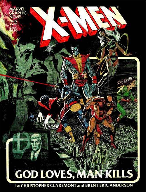 Marvel Graphic Novel 5 - X-Men: God Loves, Man Kills