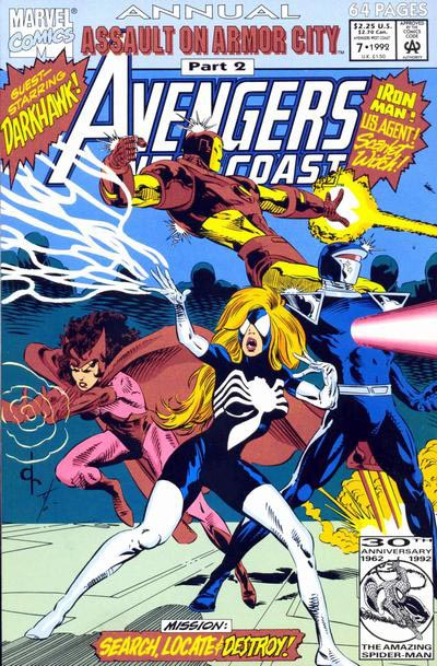 West Coast Avengers 7 - Locate!