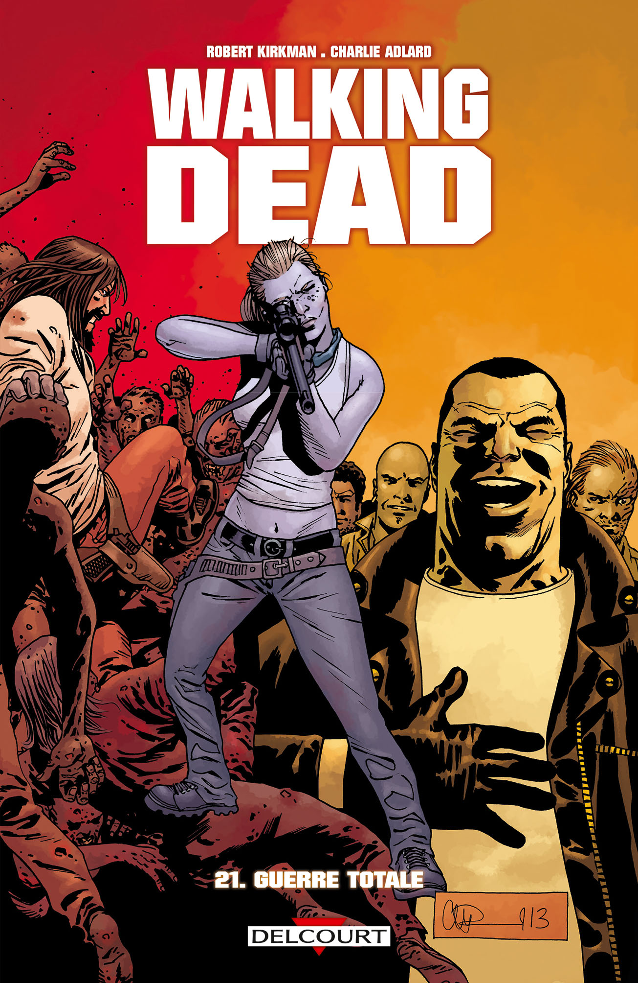 Walking Dead 21 - Guerre totale