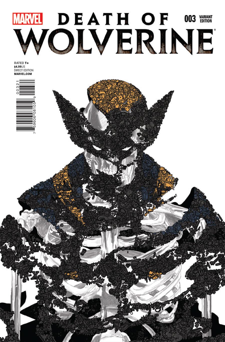 La Mort de Wolverine 3 - Death of Wolverine Part Three (Orlando Santiago Variant Cover)