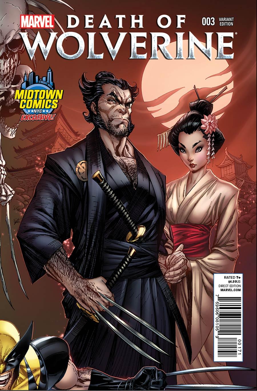 La Mort de Wolverine 3 - Death of Wolverine Part Three (Midtown Comics Exclusive Variant Cover)