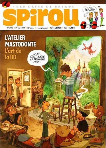 Le journal de Spirou 3963