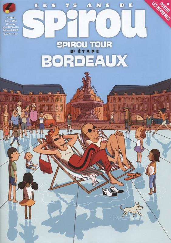 Le journal de Spirou 3932 - 8e étape Spirou Tour : Bordeaux