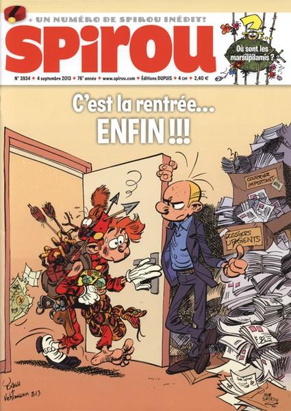 Le journal de Spirou 3934