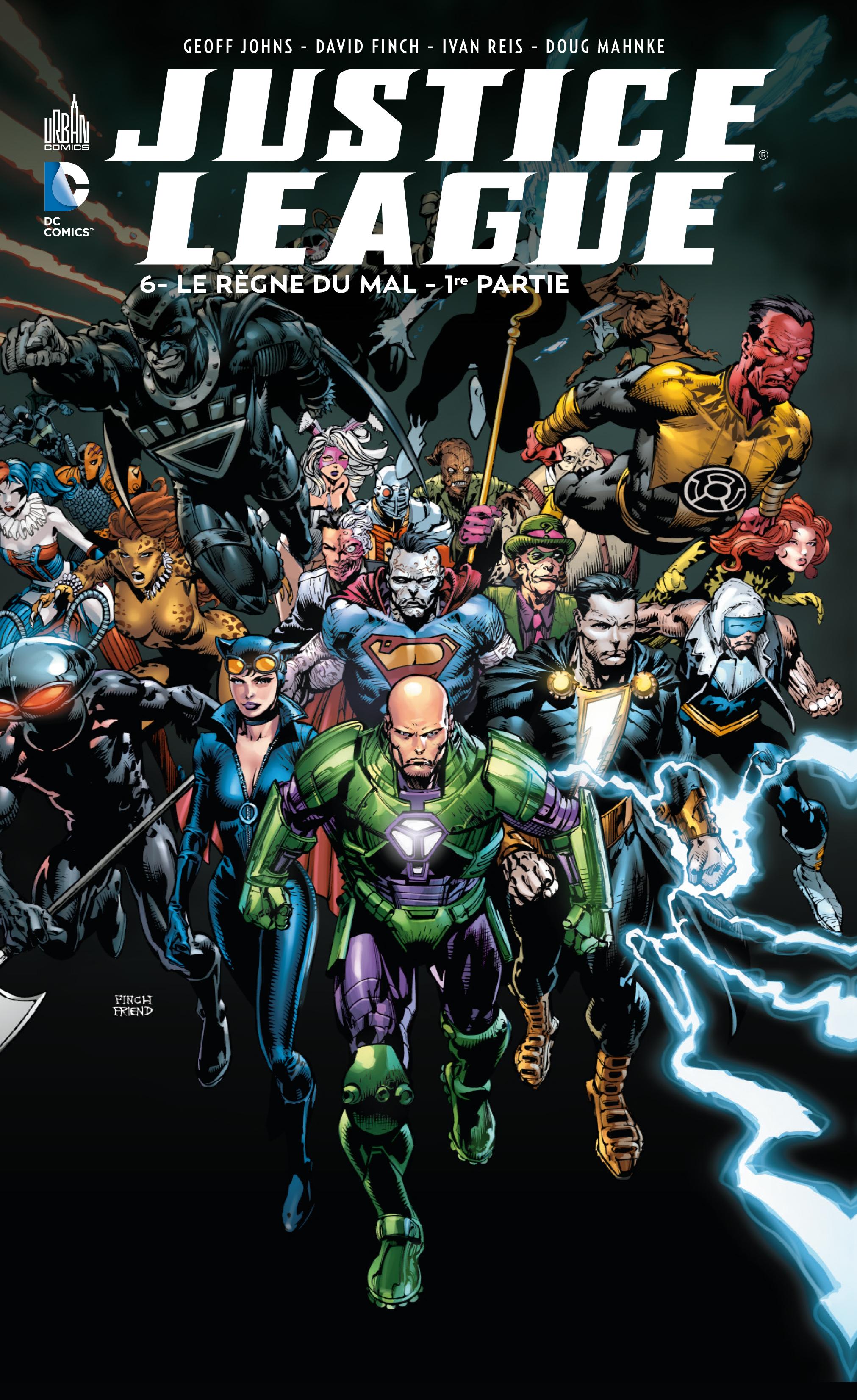 Justice League 6 - Le règne du mal - 1ère partie