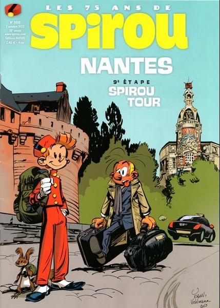 Le journal de Spirou 3938 - 9e étape Spirou tour : Nantes