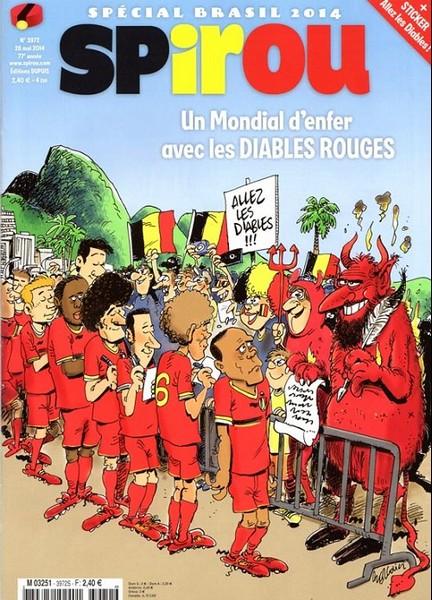 Le journal de Spirou 3972 - Spécial Brasil 2014