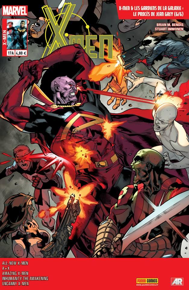 X-Men 17 - Couverture A (Stuart Immonen)