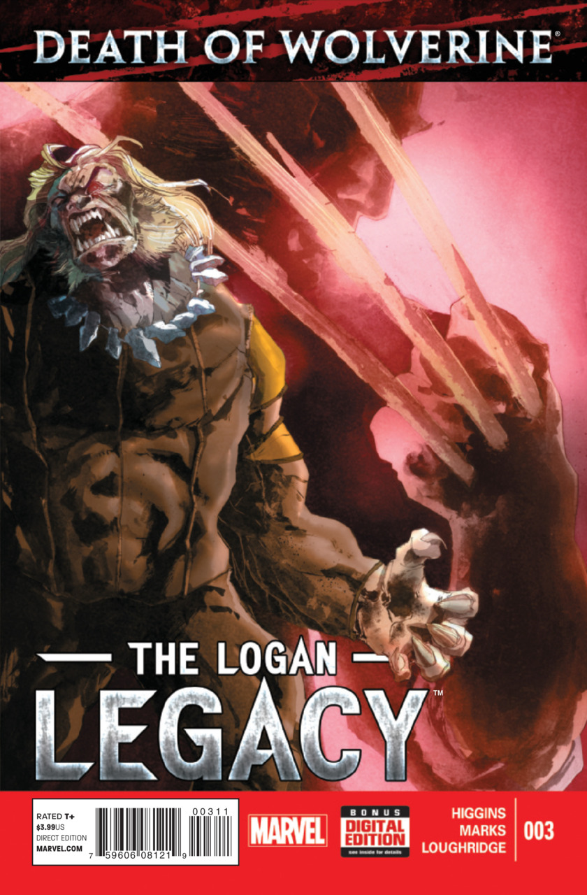 Death of Wolverine - The Logan Legacy 3 - Issue 3