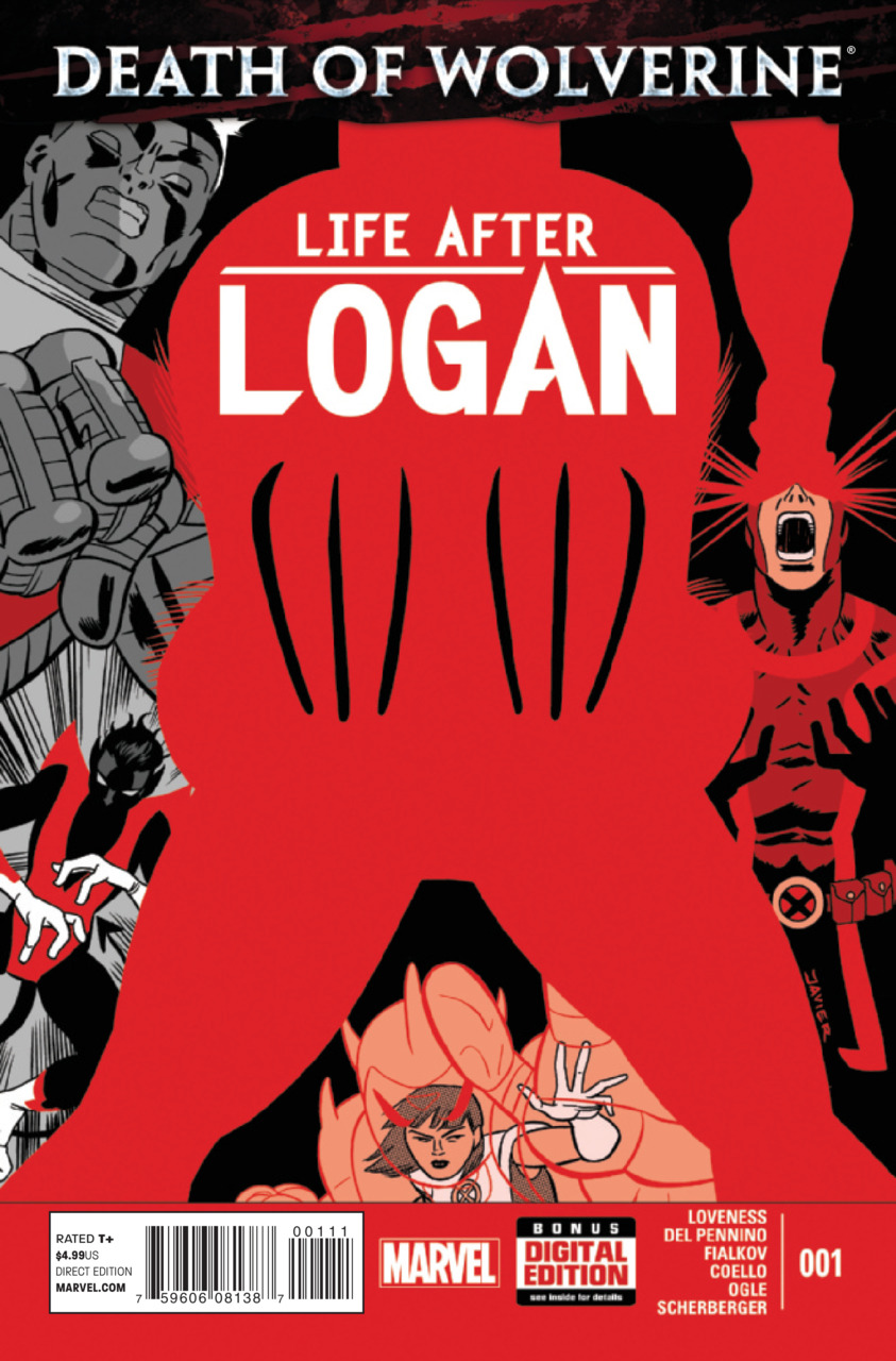 Death of Wolverine - Life after Logan 1 - Cyclops In: You; In His Honor; A Little Piece of You