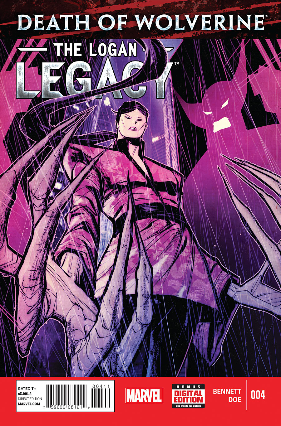Death of Wolverine - The Logan Legacy 4 - Issue 4