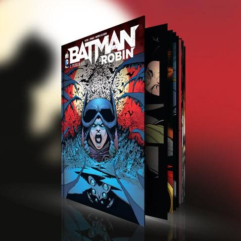 Batman & Robin 1 - Couverture variant Warner
