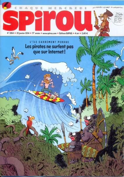 Le journal de Spirou 3954