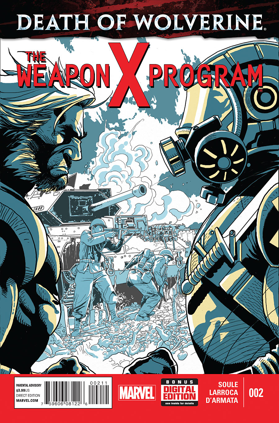 Death of Wolverine - The Weapon X Program 2 - Hypothesis