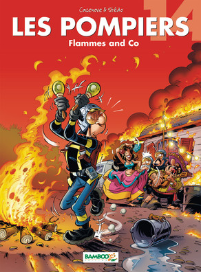 Les pompiers 14 - Flammes and Co