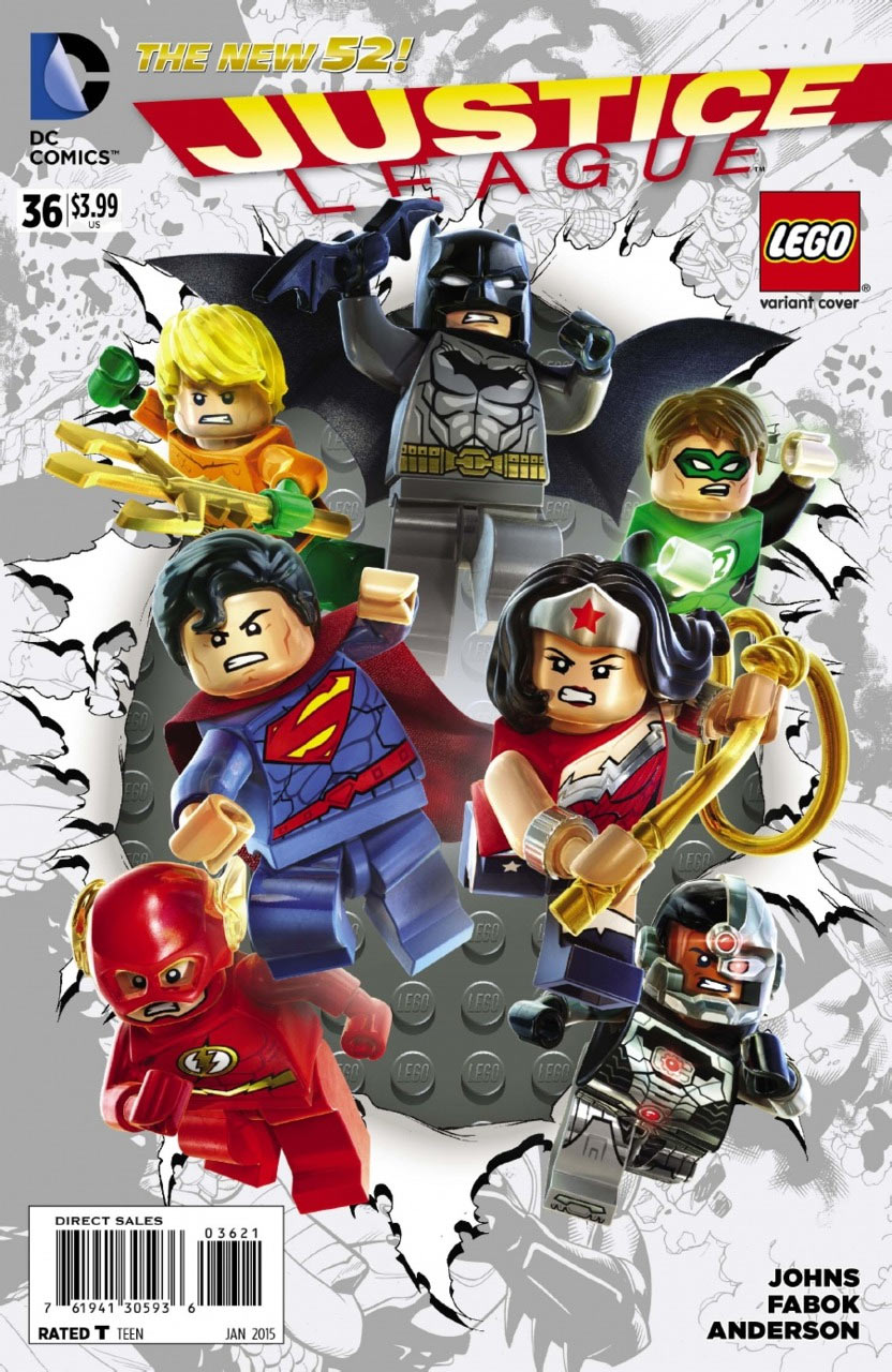 Justice League 36 - Variant Lego
