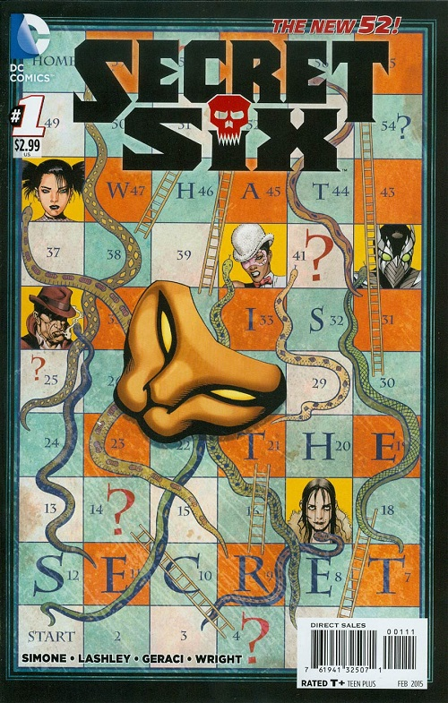 Secret Six 1 - One Less Mouth To Feed
