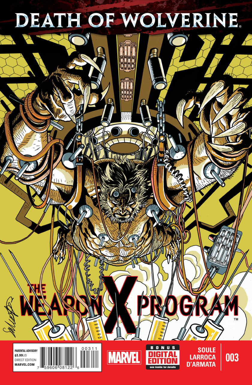 Death of Wolverine - The Weapon X Program 3 - Experimentation
