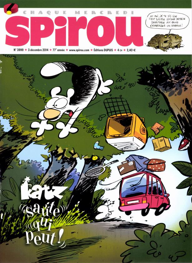 Le journal de Spirou 3999
