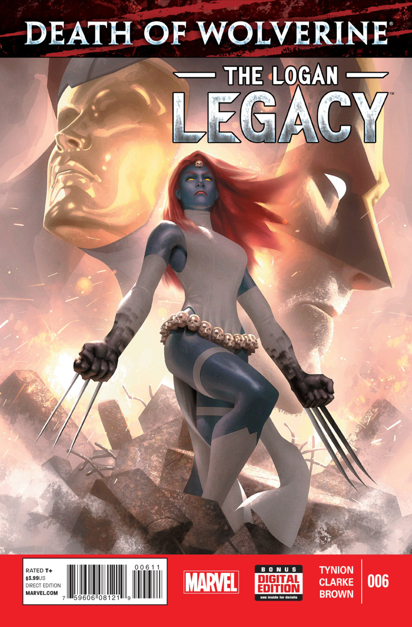 Death of Wolverine - The Logan Legacy 6 - Issue 6