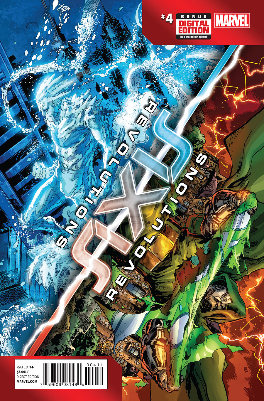Axis - Revolutions 4 - Issue 4