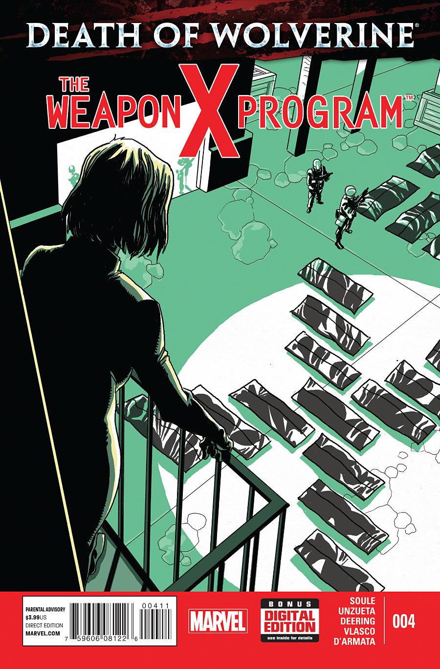 Death of Wolverine - The Weapon X Program 4 - Analysis