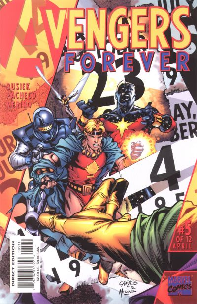 Avengers Forever 5 - Past Imperfect... Future Tense!