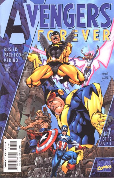 Avengers Forever 7 - Into a Limbo... Large and Broad