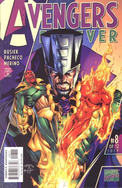 Avengers Forever 8 - The Secret History Of The Avengers