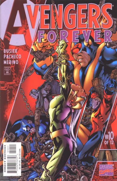 Avengers Forever 10 - Tomorrow And Tomorrow And Tomorrow...