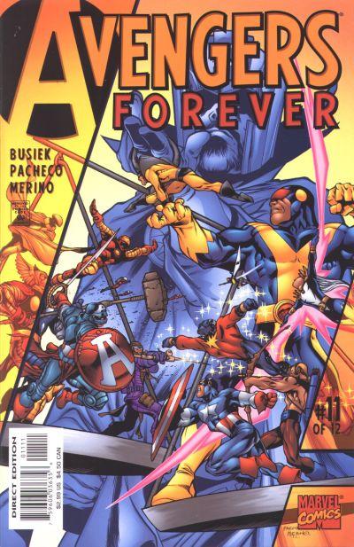 Avengers Forever 11 - The Destiny War!