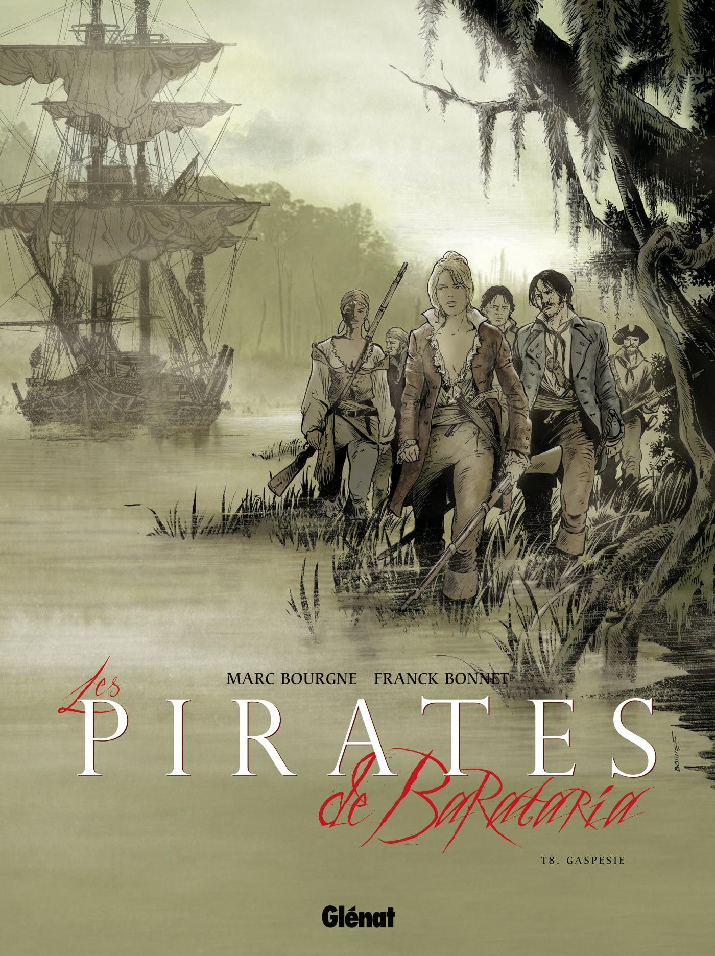 Les pirates de Barataria 8 - Gaspésie
