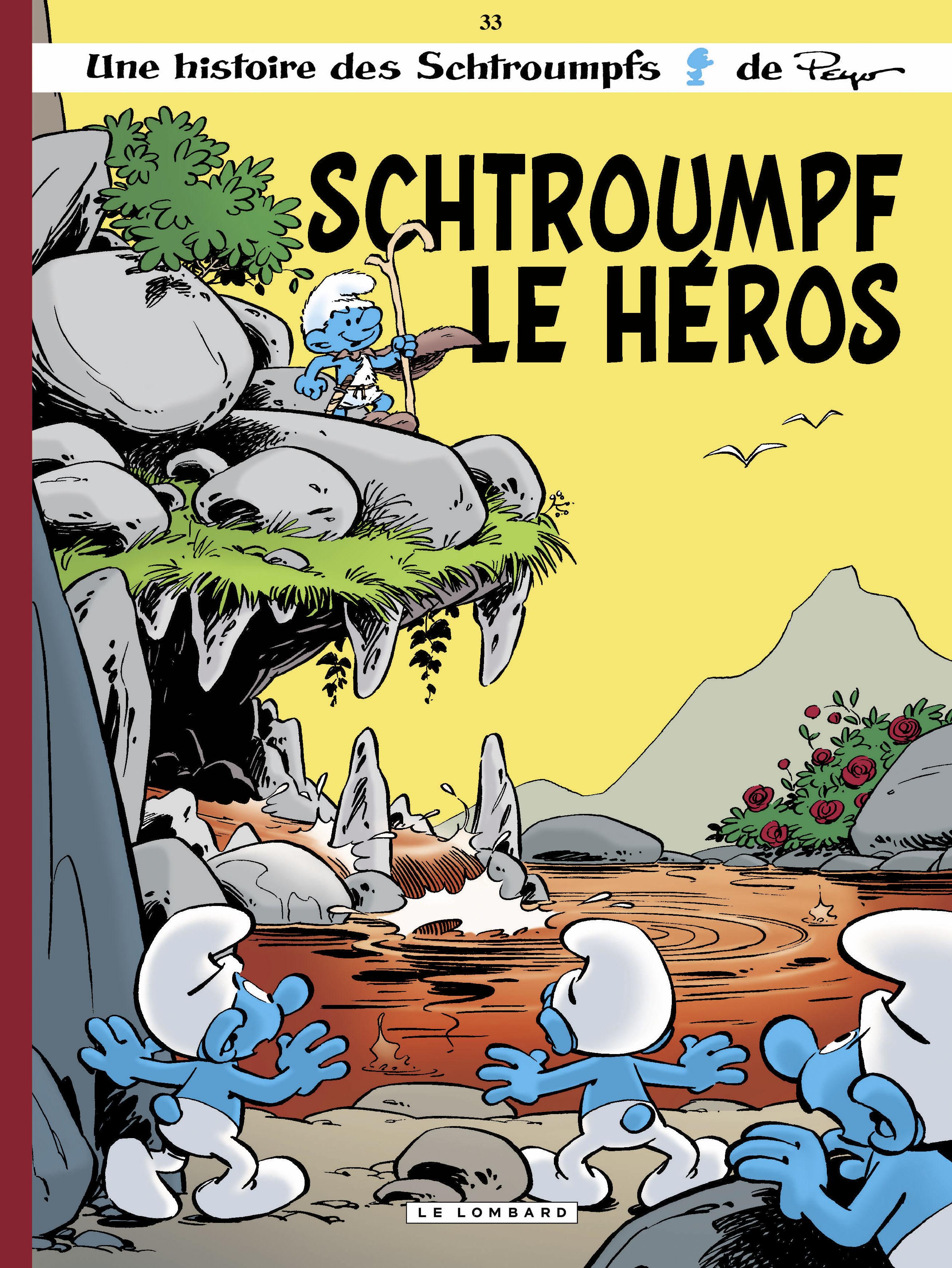 Les Schtroumpfs 33 - Schtroumpf le héros